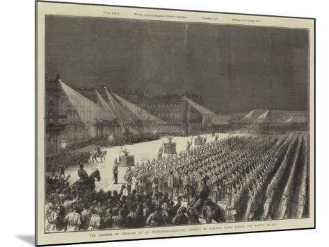 The Emperor of Germany at St Petersburg--Mounted Giclee Print