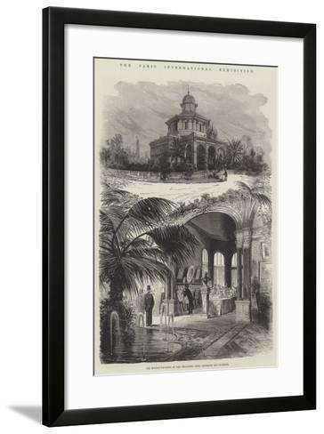 The Paris International Exhibition--Framed Art Print