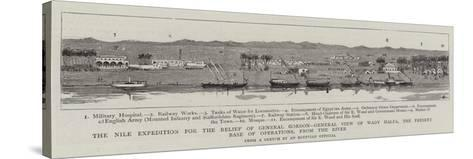 The Nile Expedition for the Relief of General Gordon--Stretched Canvas Print