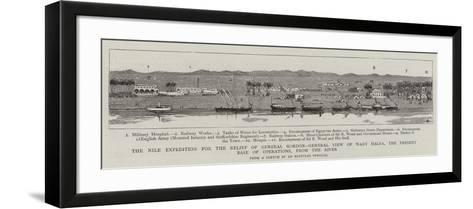 The Nile Expedition for the Relief of General Gordon--Framed Art Print