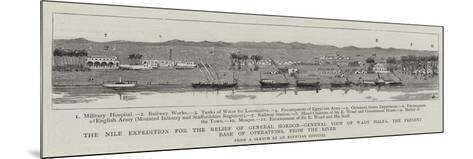 The Nile Expedition for the Relief of General Gordon--Mounted Giclee Print