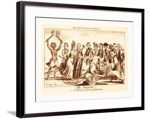 The Parricide a Sketch of Modern Patriotism--Framed Art Print