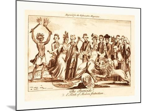 The Parricide a Sketch of Modern Patriotism--Mounted Giclee Print