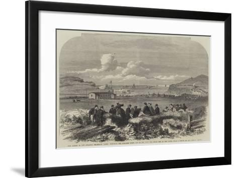 The Laying of the Atlantic Telegraph Cable--Framed Art Print