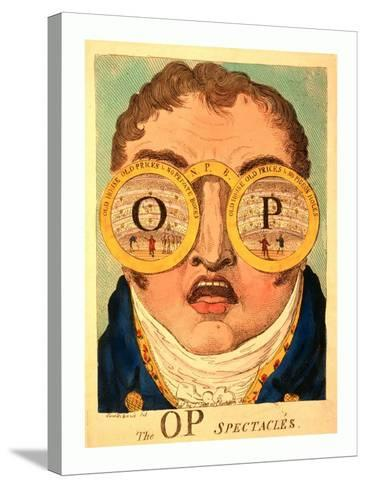 The Op Spectacles--Stretched Canvas Print