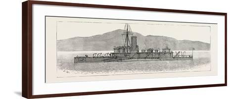 The Particular Service Squadron in Bantry Bay: the Polyphemus in Her War-Paint--Framed Art Print