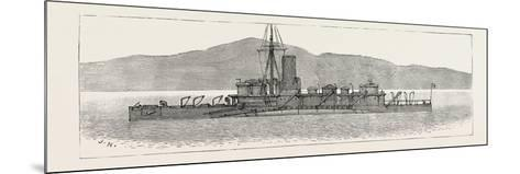 The Particular Service Squadron in Bantry Bay: the Polyphemus in Her War-Paint--Mounted Giclee Print