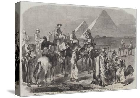 The Prince of Wales' Visit to Egypt--Stretched Canvas Print