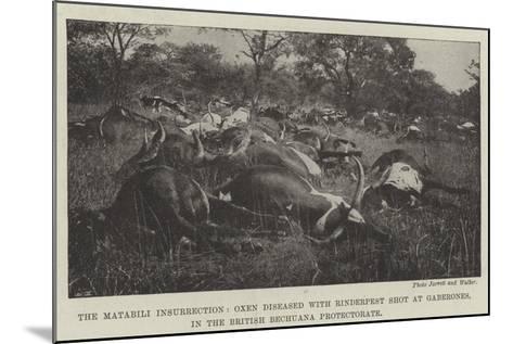 The Matabili Insurrection--Mounted Giclee Print