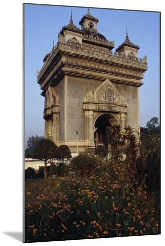 The Patuxai (Victory Gate or Gate of Triumph)--Mounted Giclee Print