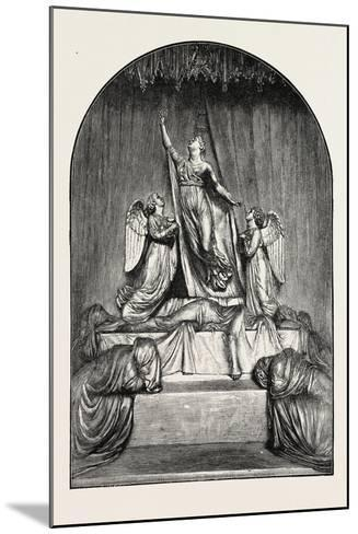 The Princess Charlotte Monument. the Princess Charlotte Augusta--Mounted Giclee Print