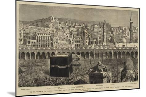 The Pilgrimage to Mecca--Mounted Giclee Print
