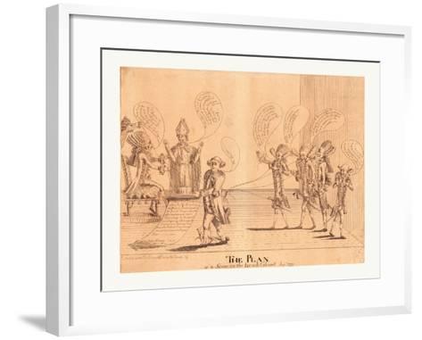 The Plan--Framed Art Print