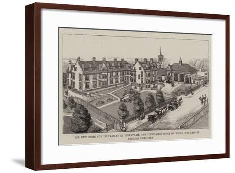 The New Home for Incurables at Streatham--Framed Art Print