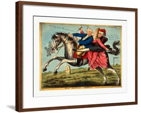 The Orators Journey--Framed Art Print
