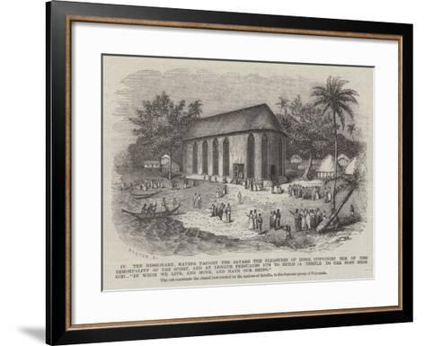 The Missionary--Framed Art Print