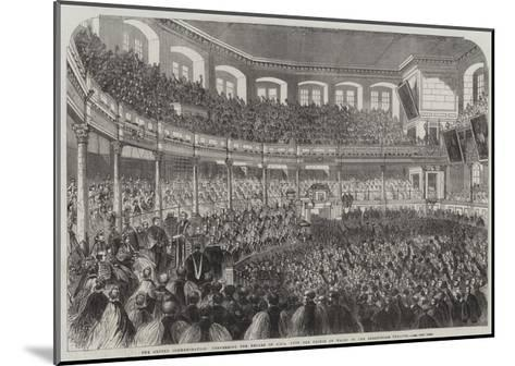 The Oxford Commemoration--Mounted Giclee Print