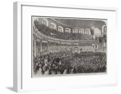 The Oxford Commemoration--Framed Art Print