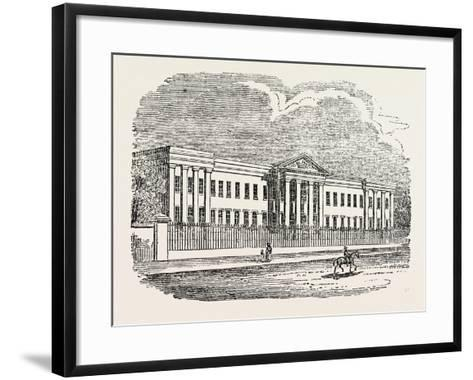 The Mariners' Almshouse--Framed Art Print