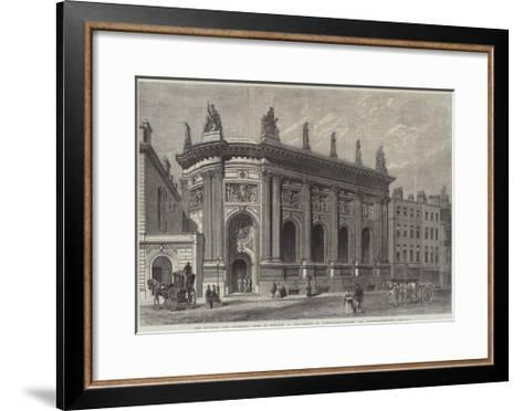 The National and Provincial Bank of England--Framed Art Print