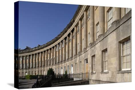 The Royal Crescent (1767-1775)--Stretched Canvas Print