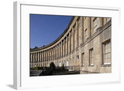 The Royal Crescent (1767-1775)--Framed Art Print