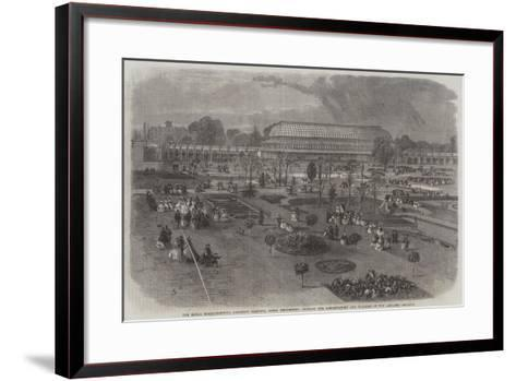 The Royal Horticultural Society's Gardens--Framed Art Print