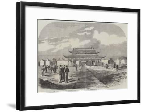 The Taeping War in China--Framed Art Print