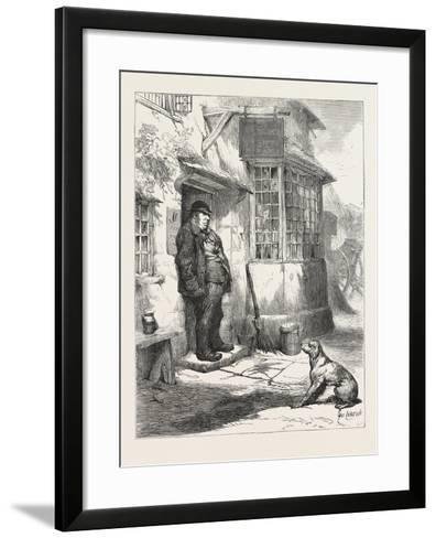 The Village Comedy--Framed Art Print