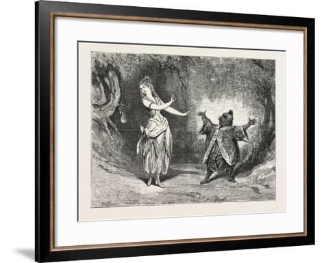The Yellow Dwarf at the Alexandra Palace--Framed Art Print