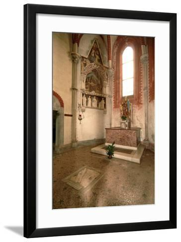 Tomb (Mid-14th Century) of Abbot Tommaso Gallo (Died in 1246)--Framed Art Print