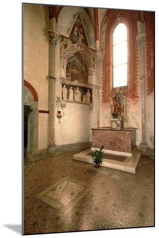 Tomb (Mid-14th Century) of Abbot Tommaso Gallo (Died in 1246)--Mounted Photographic Print