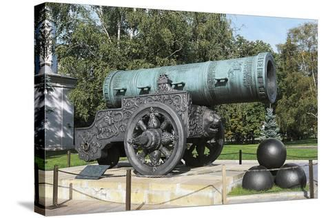 Tsar Cannon--Stretched Canvas Print
