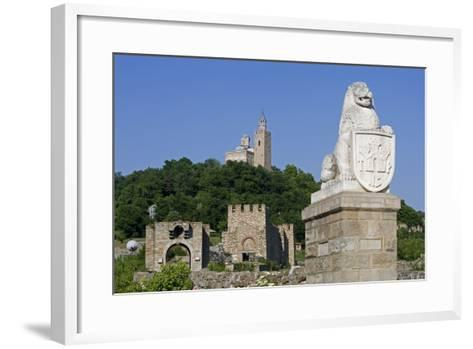 Tsarevets Fortress with Reconstructed Medieval Walls and St Salvatore Church on Top--Framed Art Print