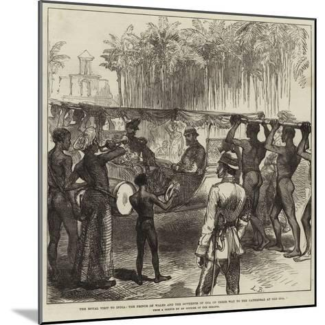 The Royal Visit to India--Mounted Giclee Print