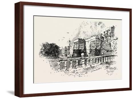 The Terrace--Framed Art Print