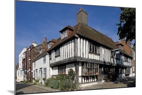 Traditional Style Buildings with Wooden Frame Structures in Church Square--Mounted Photographic Print