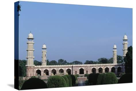 Tomb of Jahangir--Stretched Canvas Print