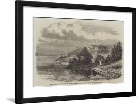 The Visit of the Prince of Wales to North America--Framed Art Print