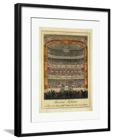 Theatrical Reflection--Framed Art Print