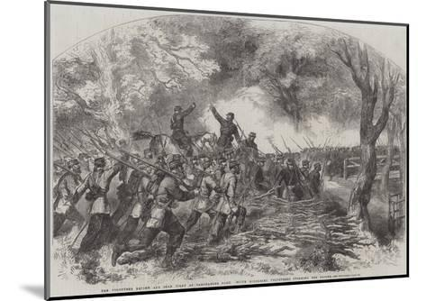 The Volunteer Review and Sham Fight at Panshanger Park--Mounted Giclee Print