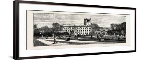 Trentham Is a Southern Suburb of the City of Stoke-On-Trent--Framed Art Print