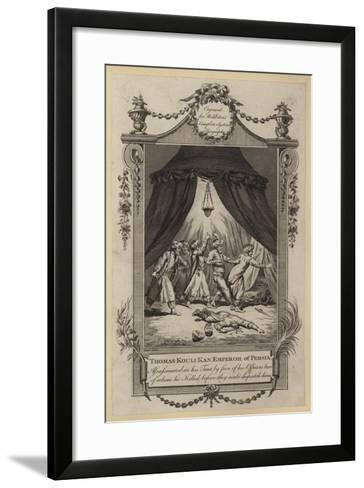 Thomas Kouli Kan--Framed Art Print