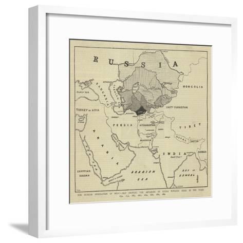The Russian Annexation of Merv--Framed Art Print
