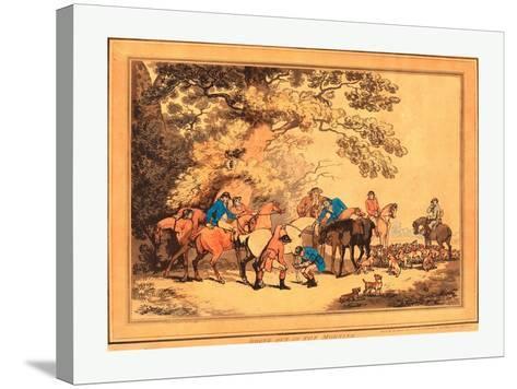 Thomas Rowlandson (British--Stretched Canvas Print