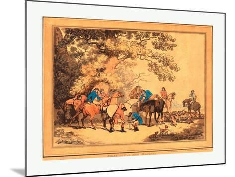 Thomas Rowlandson (British--Mounted Giclee Print