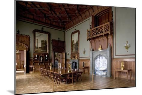 Tudor Style Dining Room in Vorontsov Palace--Mounted Photographic Print
