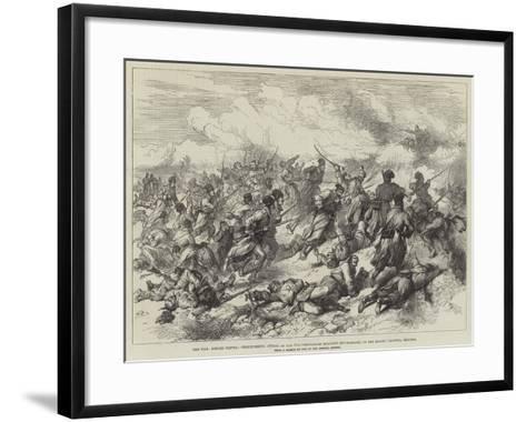 The War--Framed Art Print