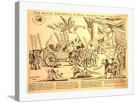 The Scots Triumph--Stretched Canvas Print