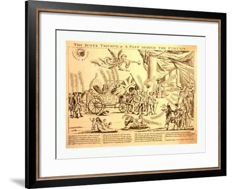 The Scots Triumph--Framed Art Print